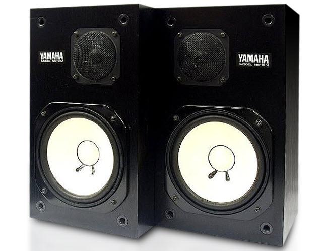 Side by side speakers.