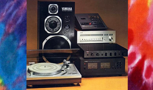 1970's era stereo components.
