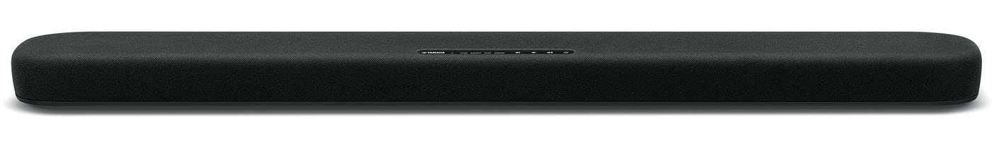 Long thin horizontal audio speaker.