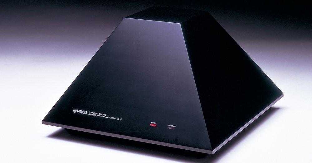 Pyramid shaped electronic item.