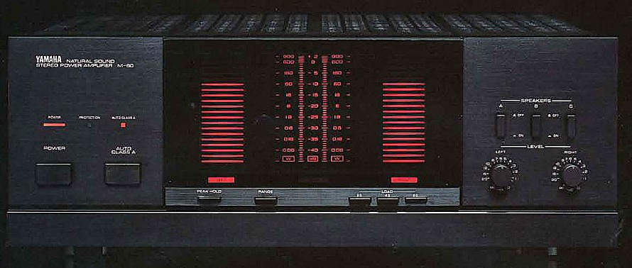 Closeup of the control panel.