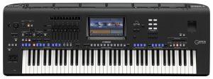 Digital piano keyboard.