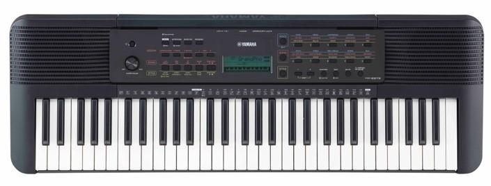Digial piano keyboard.
