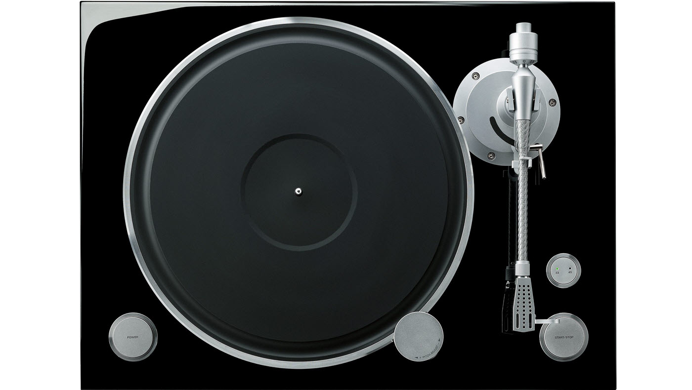 Turntable seen from above.