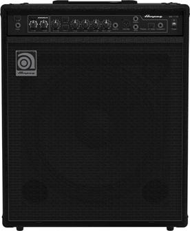 Rectangular portable amplifier.