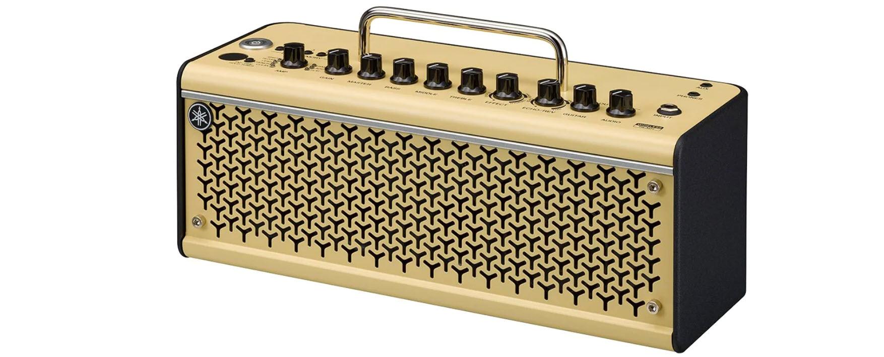 Small portable guitar amp.