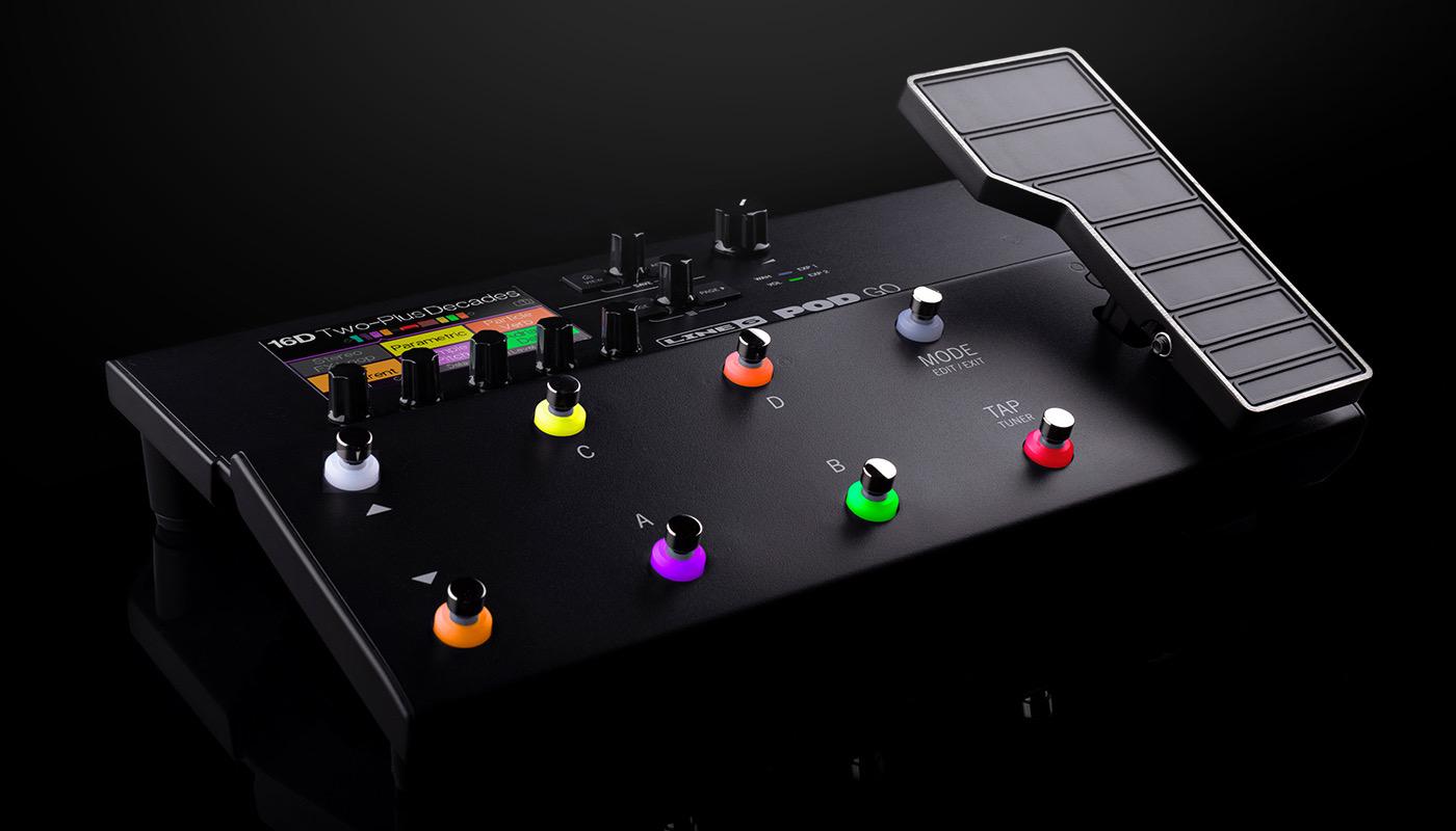 Closeup of console.